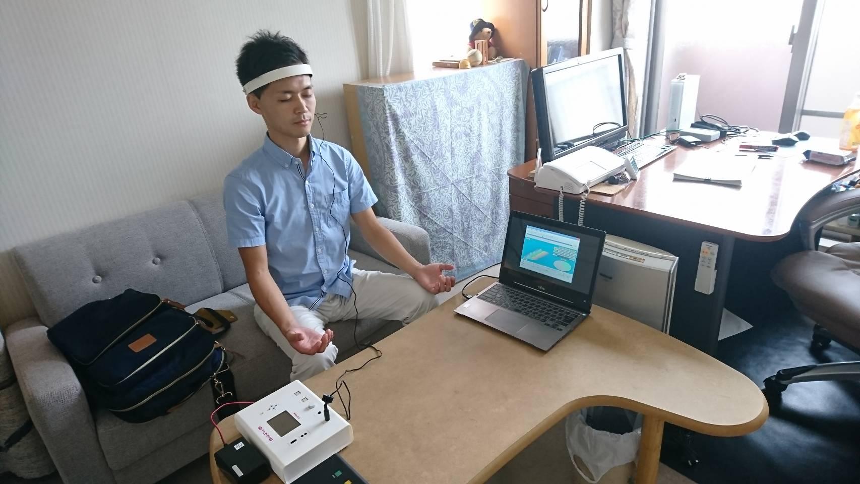 脳波測定で検証!「ジブリッシュが脳を聡明にする」は本当か?セルシネ・エイム研究所との協同研究プロジェクトが本格化!