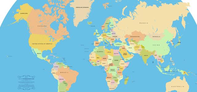 「地球!笑い声プロジェクト(仮)」収集予定の世界196ヶ国をリストアップ!!