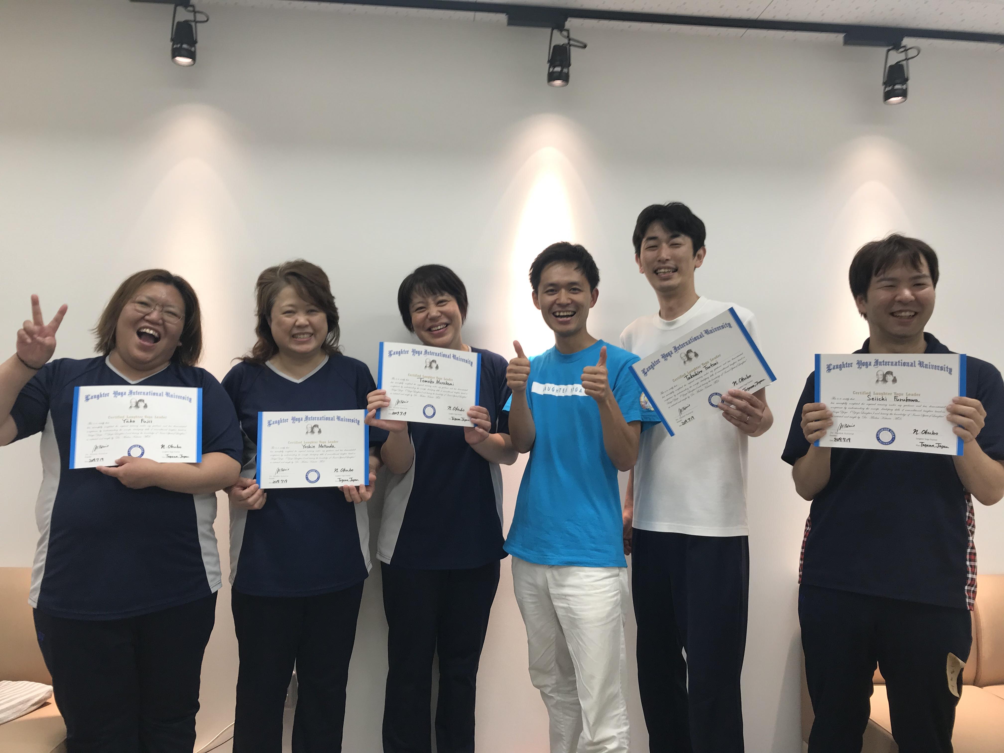 【活動レポ】寿楽園にて、高齢者施設向けの笑いヨガ研修を開催しました。(2回目)